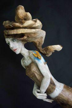 Enrico CHALLIER, sculptures / Antonella LUCARELLA, peintures