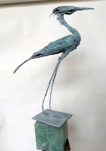 Grand ibis bleu