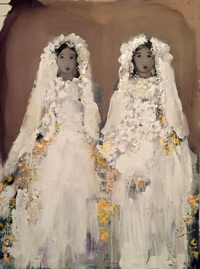 Sans titre aux deux mariées