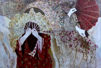 Florence DUSSUYER, peintures / Nathalie GAUGLIN, sculptures