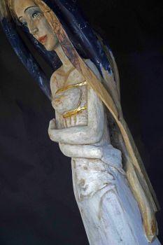 Antonella LUCARELLA, peintures / Enrico CHALLIER, sculptures