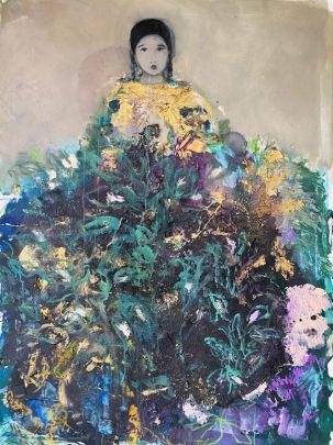 ST à la robe végétale